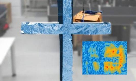Holografía a partir de las emisiones wifi de un rúter