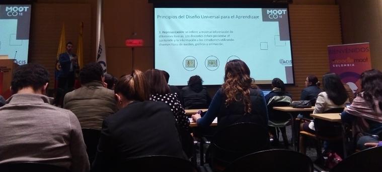 La UNIAJC asistió al evento Moodlemoot Colombia 2018