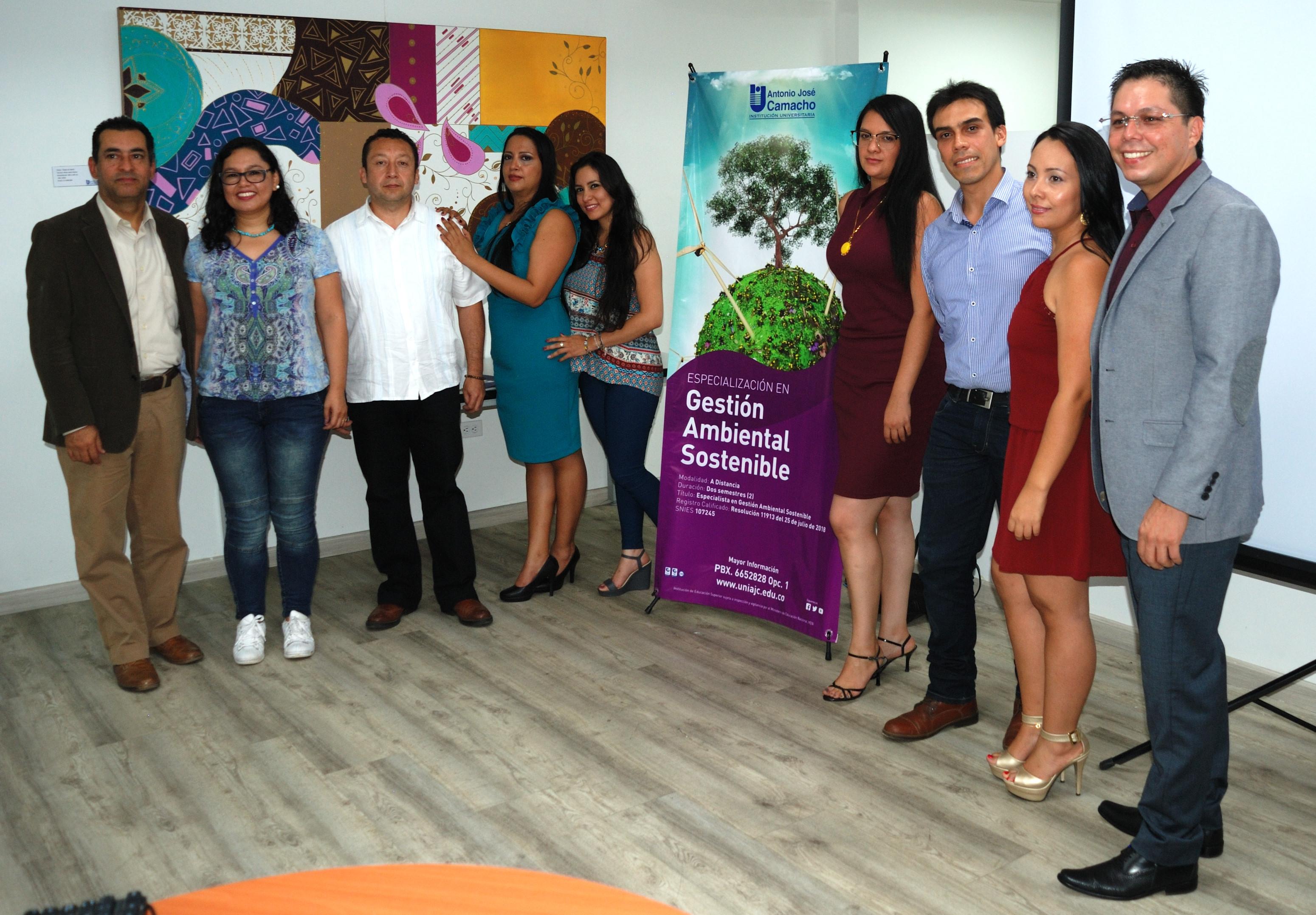 Lanzamiento de la especialización en Gestión Ambiental Sostenible