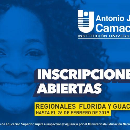 Inscripciones regionales UNIAJC