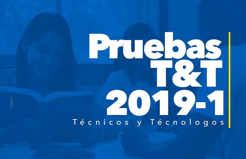 Prueba T&T 2019 – 1