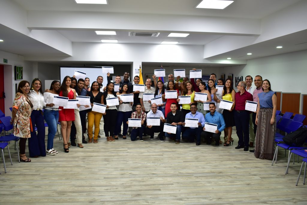 Clausura del curso de Liderazgo + Emprendimiento + Innovación