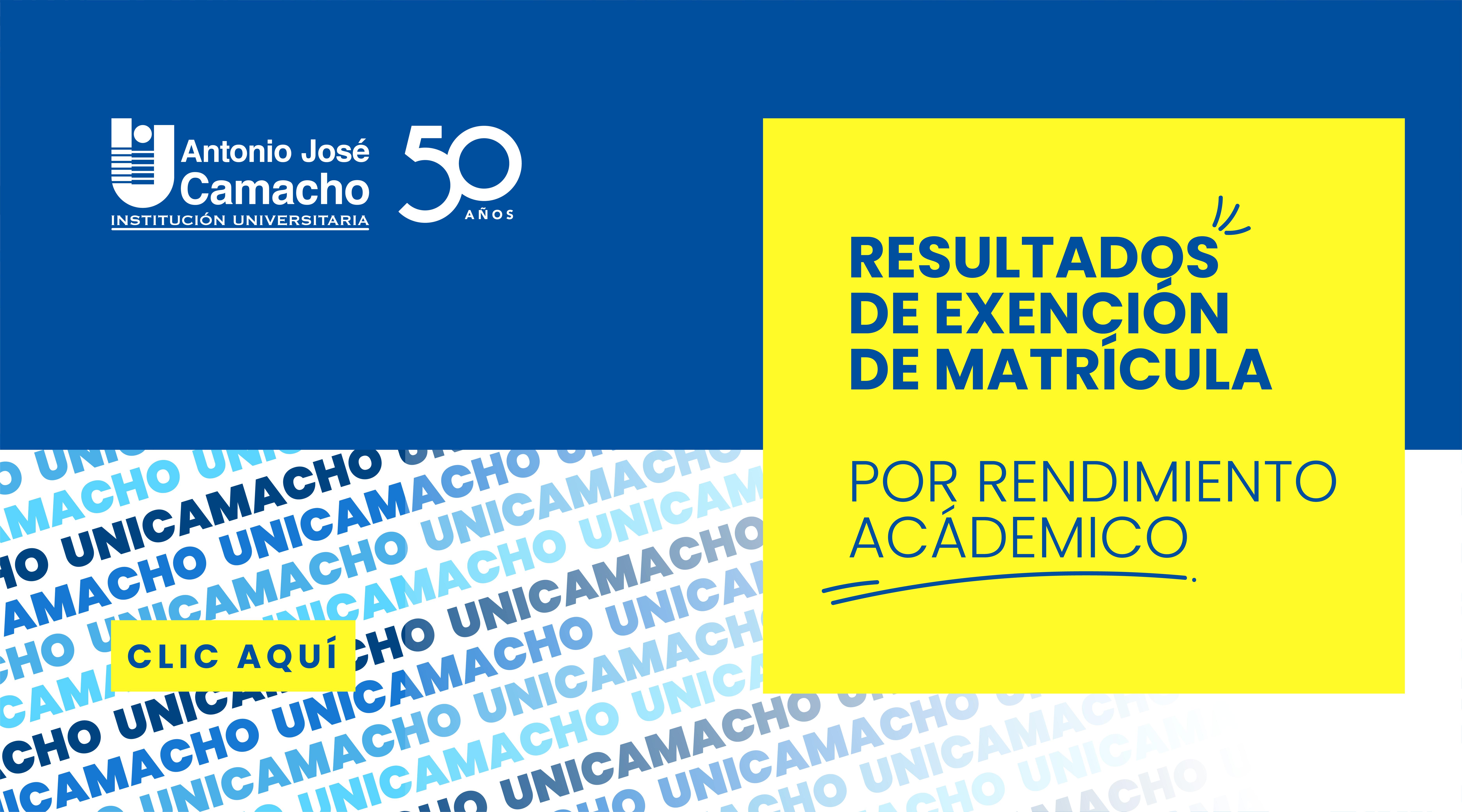 Exenciones De Matrícula Por Rendimiento Académico 2021-1