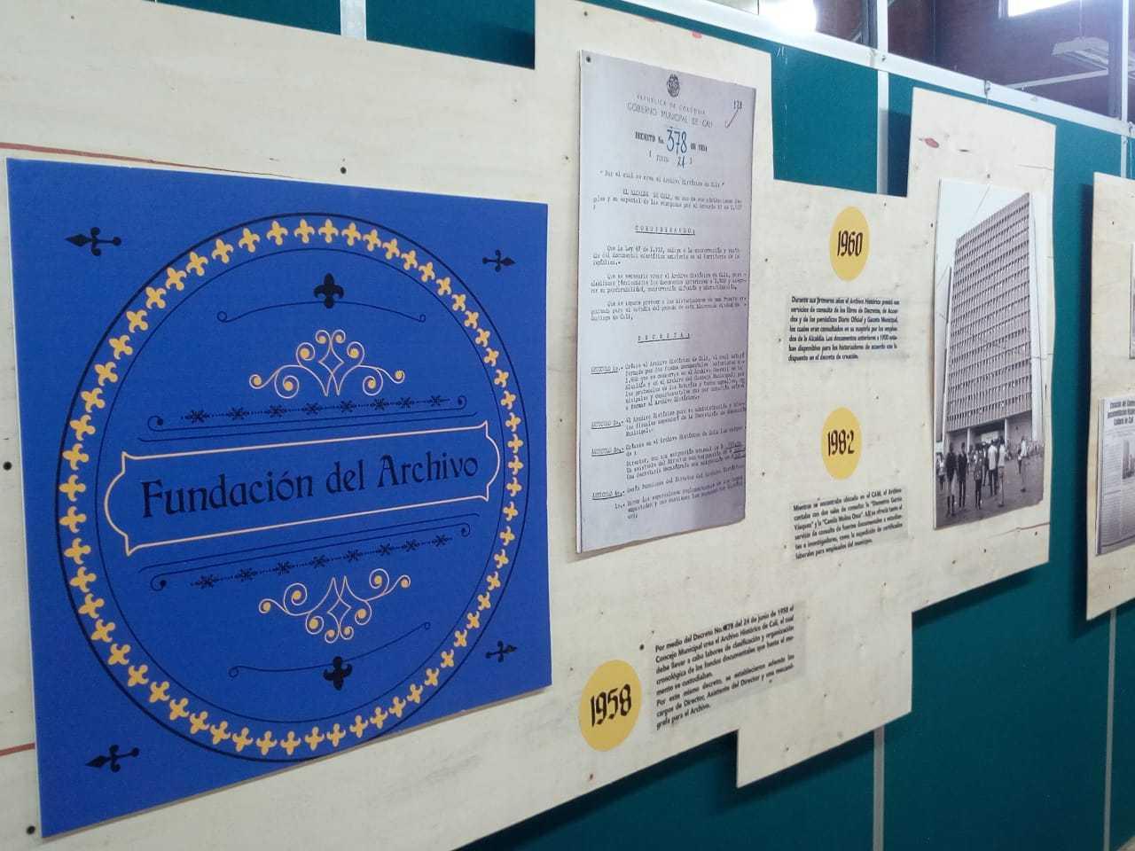 Exposición 60 años del Archivo Histórico de Cali