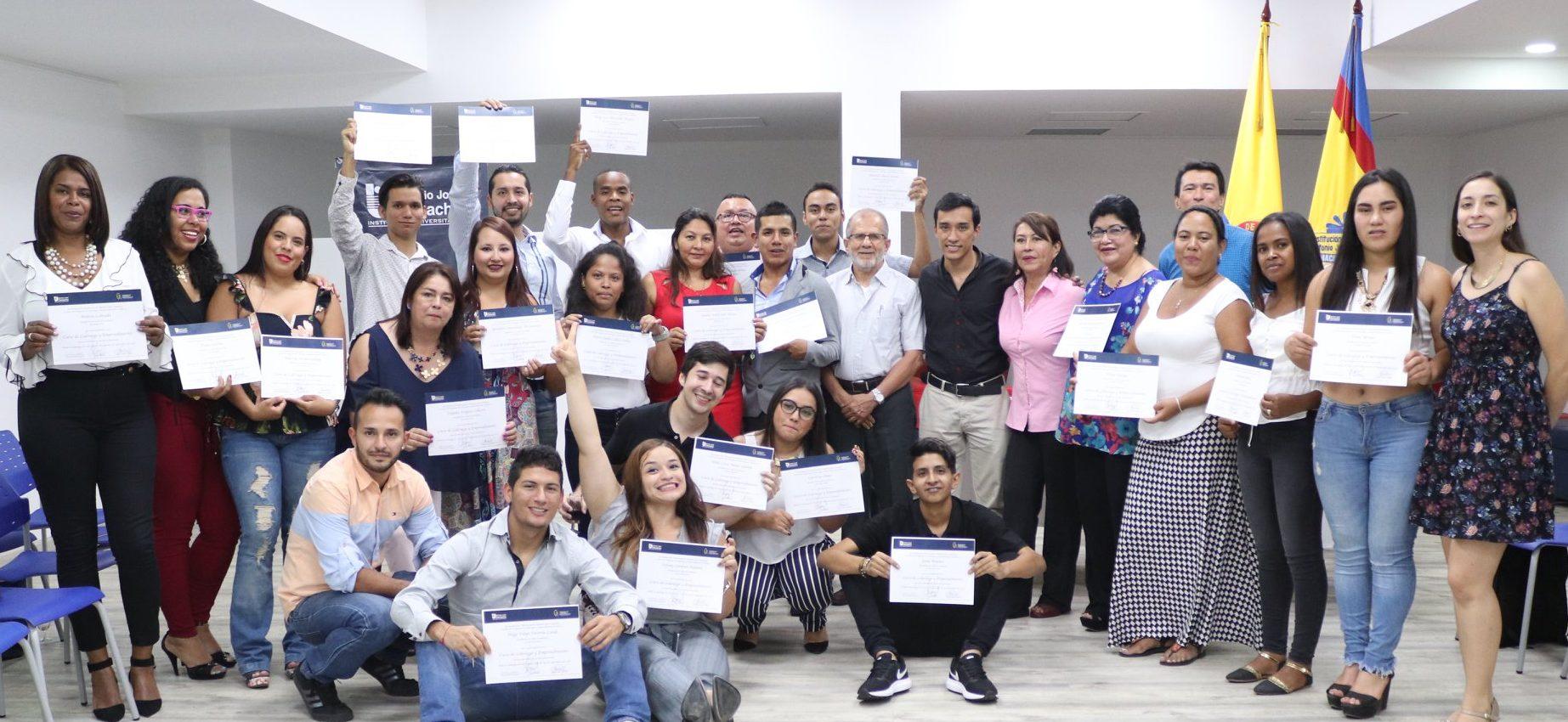 Clausura curso de Liderazgo y Emprendimiento 2018 – 1