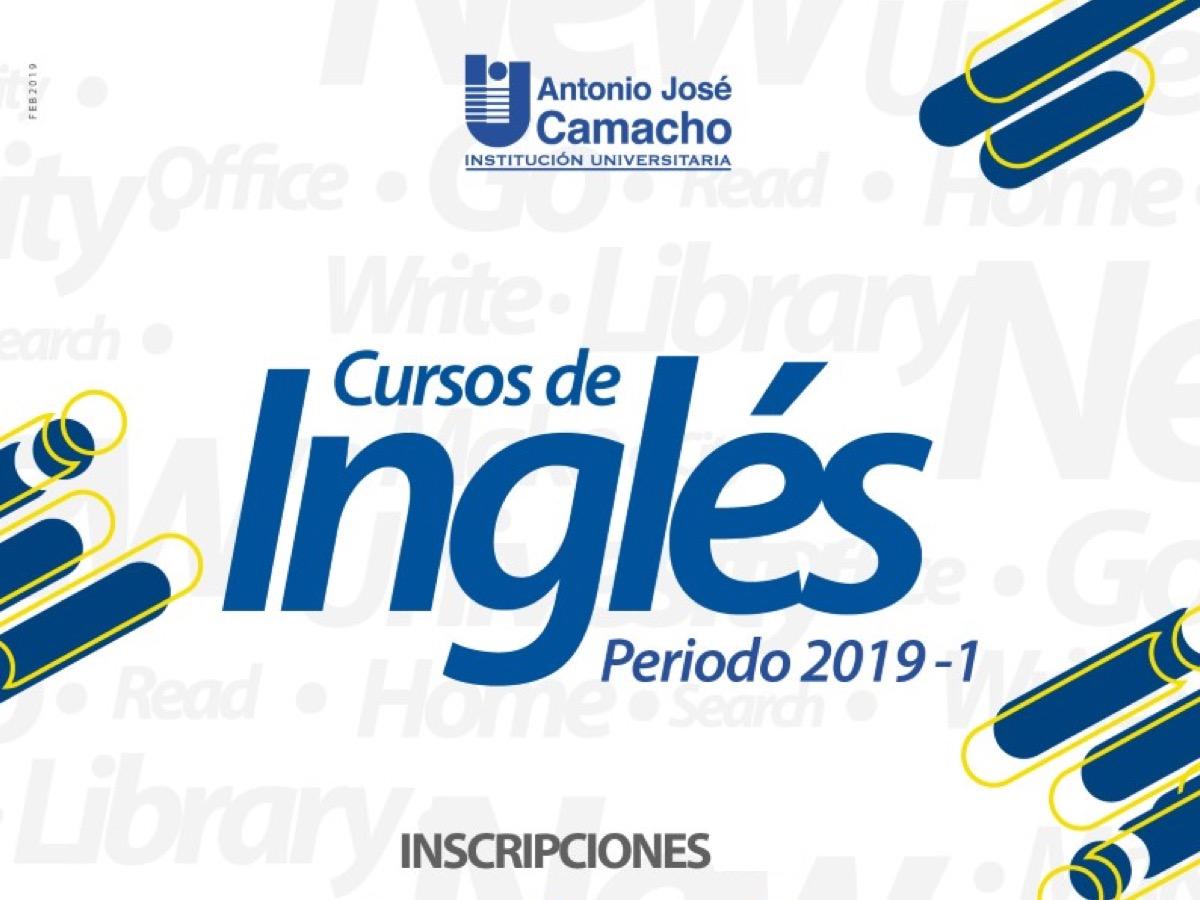 Cursos de Inglés 2019 – 1
