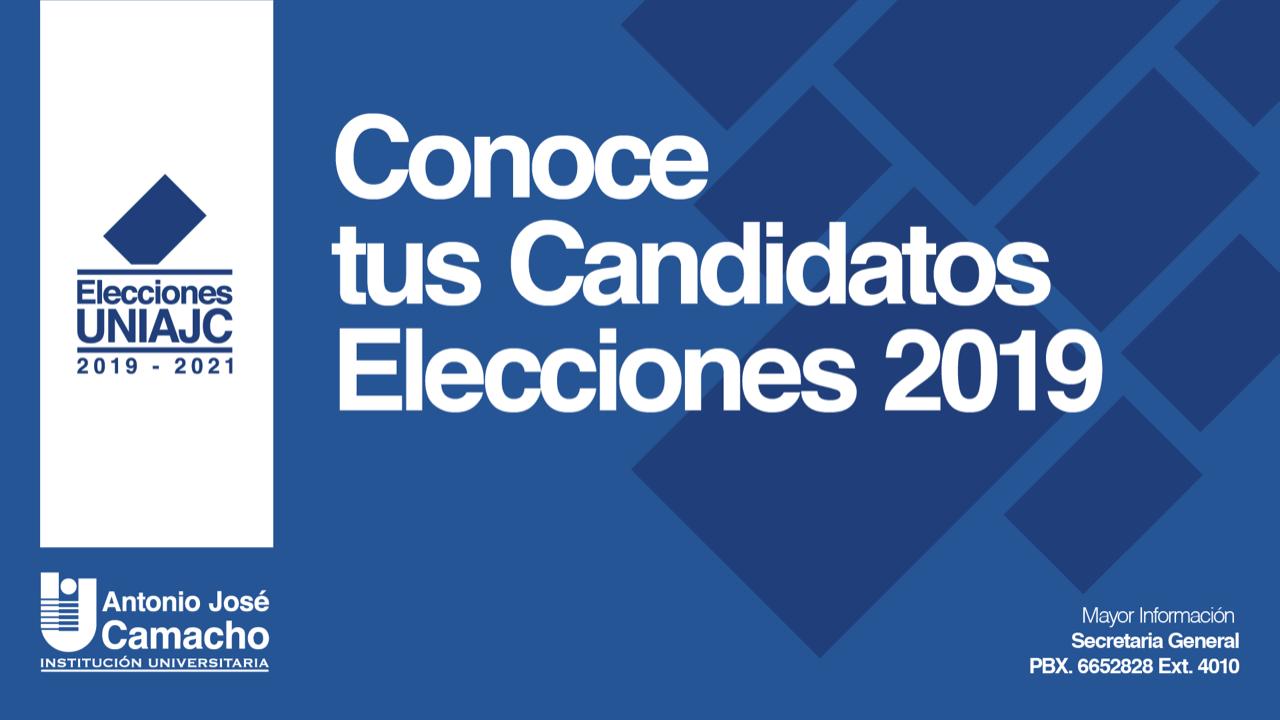 Elecciones UNIAJC 2019