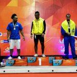 Estudiante UNIAJC ganó medalla de oro en Suramericano de levantamiento de pesa.
