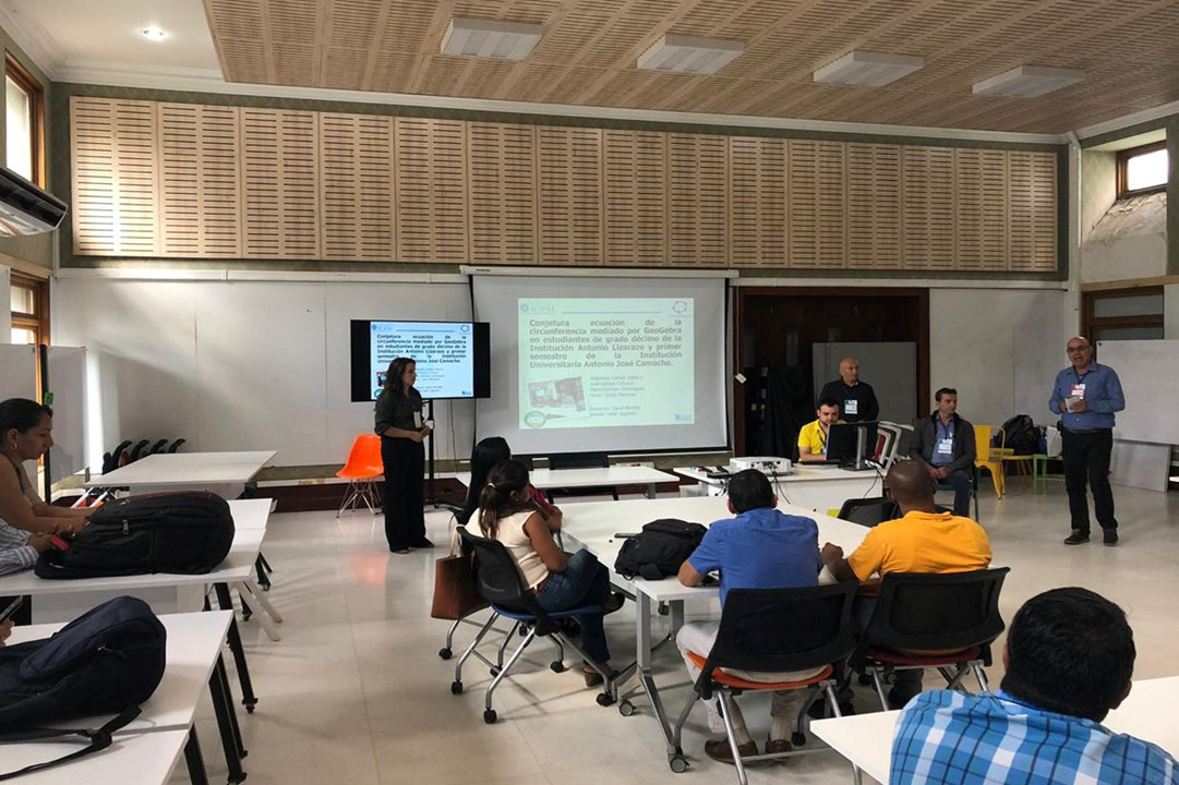 Profesores UNIAJC Presentes en el Evento Edukatic.