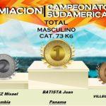 Estudiante UNIAJC Subcampeón en Sudamericano de Levantamiento de Pesas