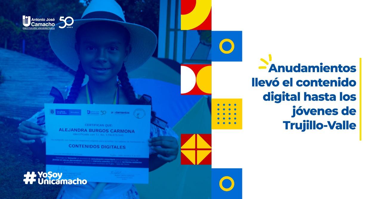 Anudamientos llevó el contenido digital hasta los jóvenes de Trujillo-Valle