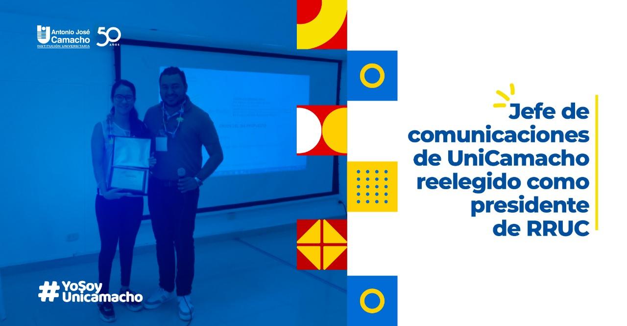 Jefe de comunicaciones de UniCamacho reelegido como presidente de RRUC